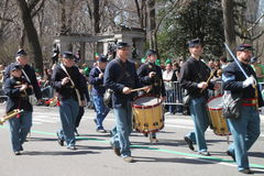 Manhattan's St Patrick parade Stock Photography