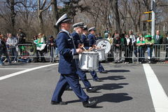Manhattan's St Patrick parade Stock Images
