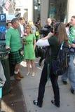 Manhattan's St Patrick parade Stock Images