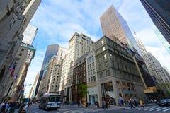Manhattan-Schnitt und Wolkenkratzer, New York City Lizenzfreies Stockfoto