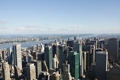 Manhattan sikt Royaltyfri Bild