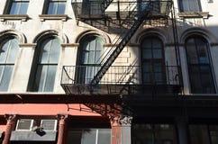Manhattan sikt i NYC Fotografering för Bildbyråer