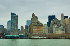 Manhattan Sky line Royalty Free Stock Image