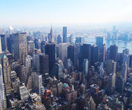 Manhattan skycrapers, New York Stock Photo