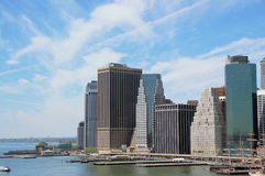 Manhattan Skyline. Skyline of Lower Manhattan Royalty Free Stock Image