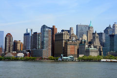 Manhattan-Skyline Lizenzfreies Stockfoto