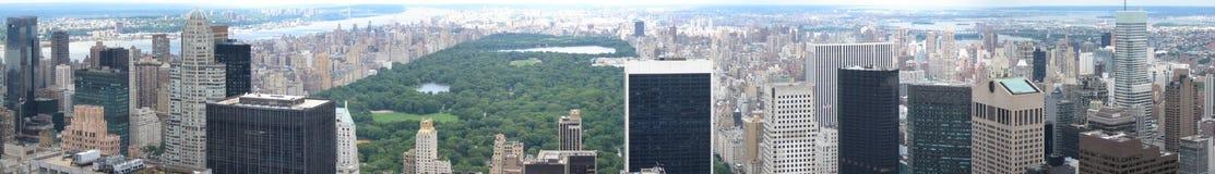 Manhattan skyline Royalty Free Stock Photos
