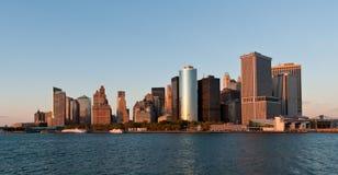 Manhattan-Skyline Lizenzfreie Stockfotos