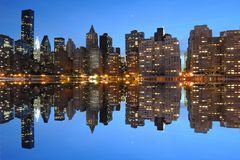 Manhattan Skyline Royalty Free Stock Photos