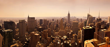 Manhattan Skyline Stock Photos