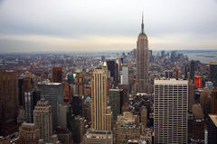 Manhattan Skyline Royalty Free Stock Images