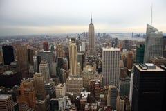 Manhattan-Skyline Stockfotografie