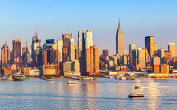 Manhattan Skyline Royalty Free Stock Images
