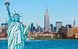 Manhattan skyline Royalty Free Stock Image