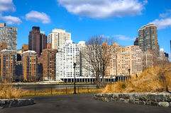 Manhattan skyline Royalty Free Stock Photography