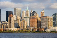 Manhattan Skyline Stock Images
