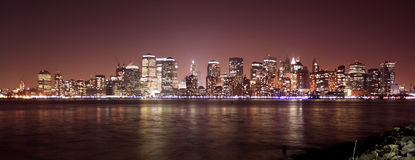 Manhattan-Skyline Lizenzfreie Stockbilder