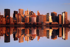 Manhattan-Skyline Lizenzfreies Stockbild
