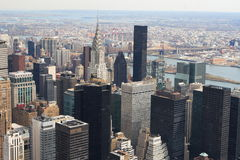 Manhattan-Skyline Lizenzfreies Stockbild