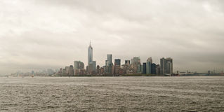 Manhattan skyline and buildings, New York City, USA Royalty Free Stock Images