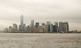 Manhattan skyline and buildings, New York City, USA Royalty Free Stock Image