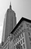 Manhattan Skyline with Empire State Building, NYC Royalty Free Stock Photography