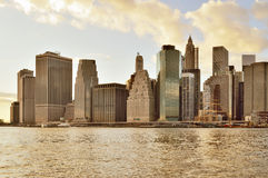 Manhattan skyline. Stock Photography