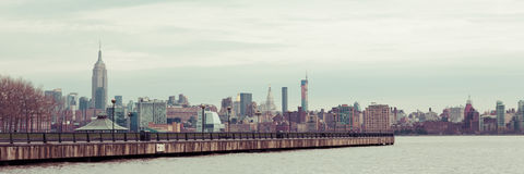 Manhattan Skyline from Hoboken Stock Images