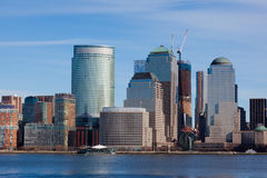 Manhattan skyline in New York Royalty Free Stock Photography