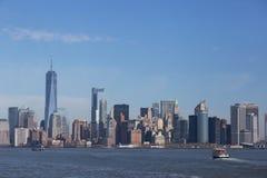 Manhattan Skyline, New York Stock Images