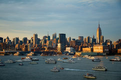 Manhattan skyline, New York City Royalty Free Stock Photography
