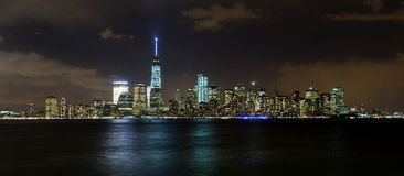 Manhattan Skyline, New York City. This is the skyline of lower Manhattan in New York City Stock Photo