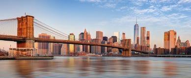 Manhattan skyline, New York City Royalty Free Stock Photo