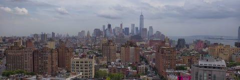 Manhattan-Skyline, New York City stockfoto