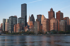 Manhattan Skyline New York City Royalty Free Stock Photo