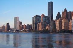 Manhattan Skyline New York City Stock Image