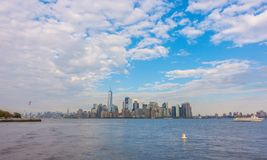 Manhattan skyline, New York City. USA . Stock Images