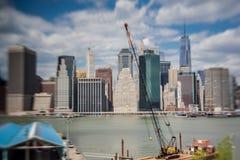 Manhattan Skyline New York Stock Photography
