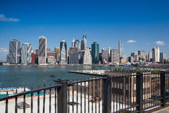 Manhattan skyline - New York, NYC Stock Photos