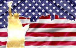 New York  Patriotic Symbols Royalty Free Stock Photography