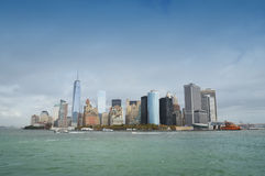 Manhattan skyline Stock Image