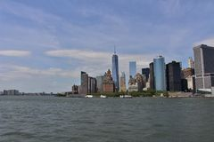 Manhattan Skyline, New York Stock Photography