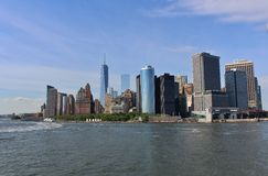 Manhattan Skyline, New York Stock Photo