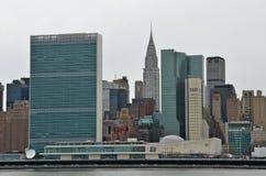 Manhattan skyline, NYC Royalty Free Stock Photo
