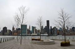 Manhattan skyline, NYC Royalty Free Stock Photos