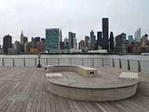Manhattan skyline, NYC Royalty Free Stock Image