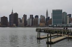Manhattan skyline, NYC Royalty Free Stock Images