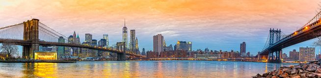 Manhattan, New York City, USA. Royalty Free Stock Photography