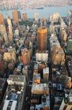 Manhattan-Skyline und Brooklyn Stockfoto