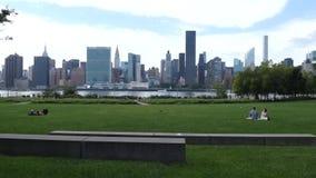 New York City Skyline stock footage